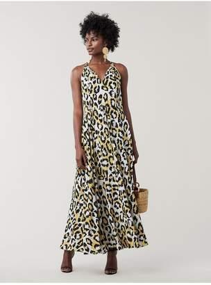 Diane von Furstenberg Sierra Silk Crepe De Chine Maxi Dress