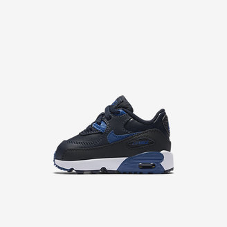 Nike Air Max 90 Leather Infant/Toddler Shoe $52 thestylecure.com