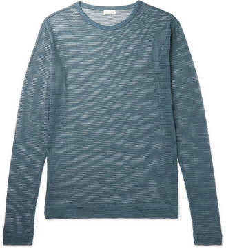 Dries Van Noten Humbler Cotton-Mesh T-Shirt
