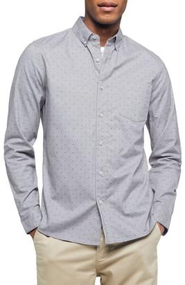 Topman Classic Fit Button-Down Oxford Shirt
