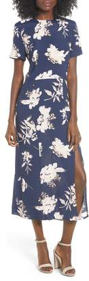 Leith Print Midi Dress