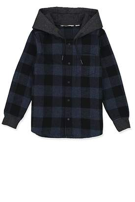 Country Road Hooded Check Shirt