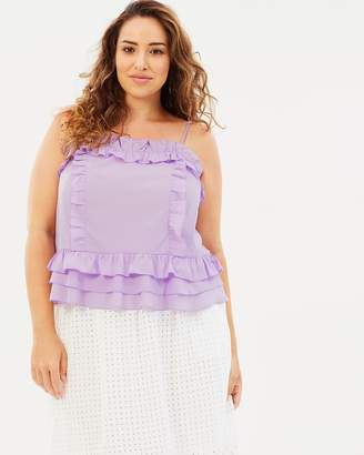 ICONIC EXCLUSIVE - Tammy Ruffle Cami