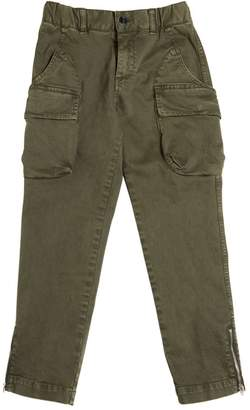 Myths Stretch Cotton Gabardine Cargo Pants