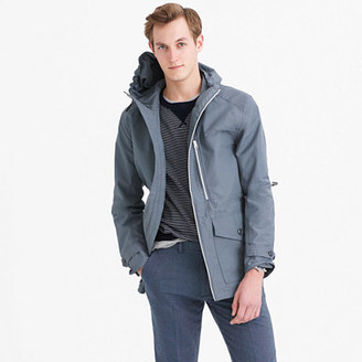 Cotton-nylon x250 hooded jacket $178 thestylecure.com