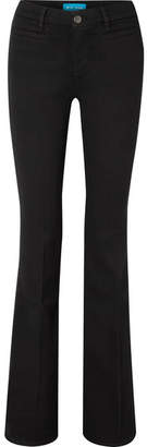 MiH Jeans Marrakesh High-rise Flared Jeans - Black