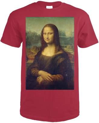 Leonardo Lantern Press Mona Lisa (Artist da Vinci) c. 1503 - Masterpiece Classic ( T-Shirt)