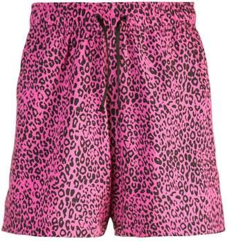 Amiri leopard print shorts