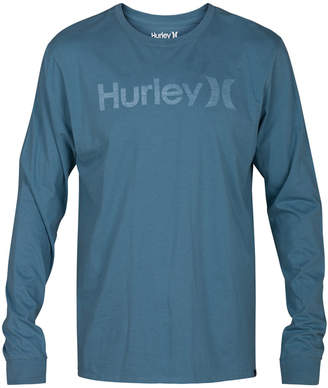 Hurley Men's One And Only Long-Sleeve T-Shirt