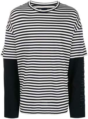 Juun.J striped longsleeveled T-shirt