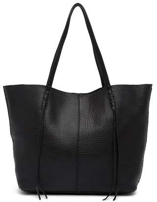 Rebecca Minkoff Medium Unlined Leather Tote with Whipstitch