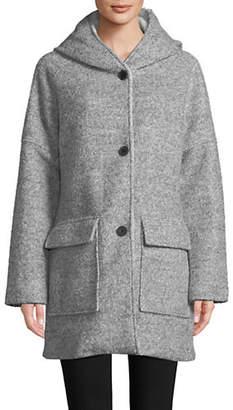 London Fog 32' Wool Cozy Coat