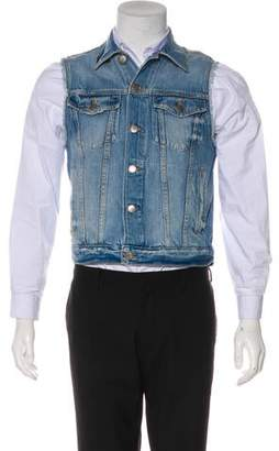 Frame Le Original Denim Vest