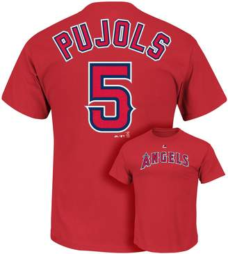 Majestic Men's Los Angeles Angels of Anaheim Albert Pujols Tee