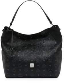 MCM Medium Klara Visetos Hobo Bag