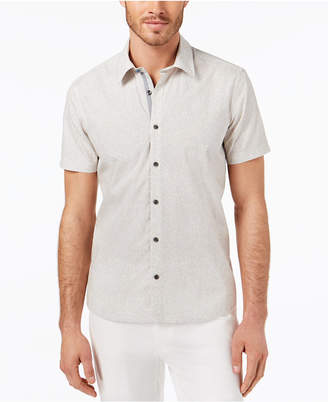 Ryan Seacrest Distinction Men's Slim-Fit Wave-Print Sport Shirt, Created for Macy's