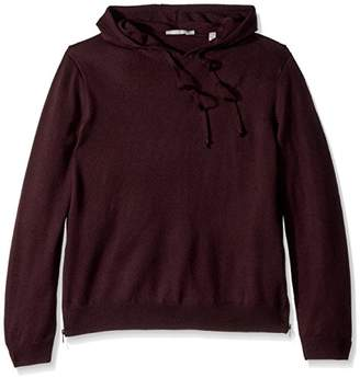Vince Men's Side Zip Pullover Hoodie