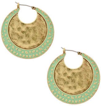 Lucky Brand Culture Club Petina Hoop Earrings