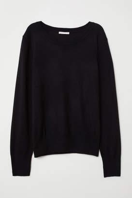 H&M Wool-blend Sweater - Black
