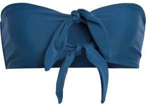 Mikoh Loihi Knotted Bandeau Bikini Top
