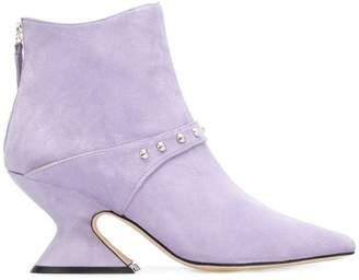 Dorateymur sculpted heel boots
