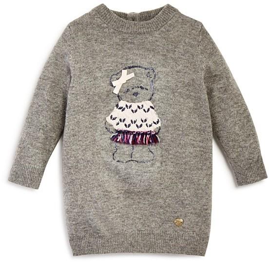 Armani JuniorArmani Infant Girls' Embellished Bear Sweater Dress - Sizes 12-36 Months