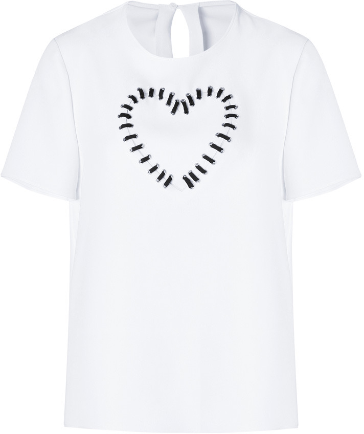 Moschino Cheap & Chic Top in White