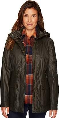 Pendleton Women's Waxed Cotton Hooded Zip Front Jacket
