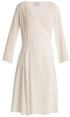 Bower - Bianca Woven Wrap Dress - Womens - White