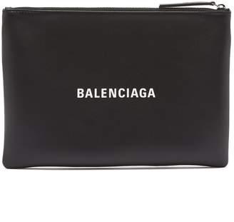 Balenciaga Everyday M leather pouch