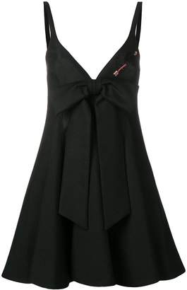 Valentino bow-tied mini dress