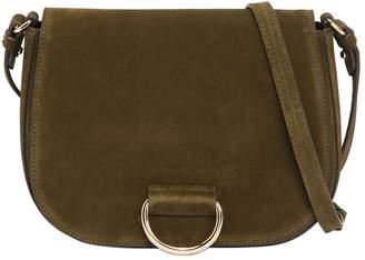 Medium Saddle Suede Shoulder Bag