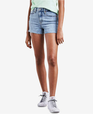Levi's Mile High Cutoff Denim Shorts