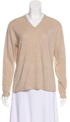 Neiman Marcus Cashmere Long Sleeve Sweater