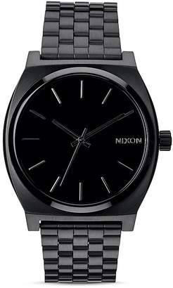 Nixon Time Teller All-Black Watch, 37mm $100 thestylecure.com