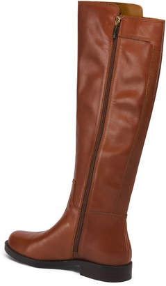 Franco Sarto Knee High Leather Boots