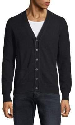 Cashmere Jersey Cardigan