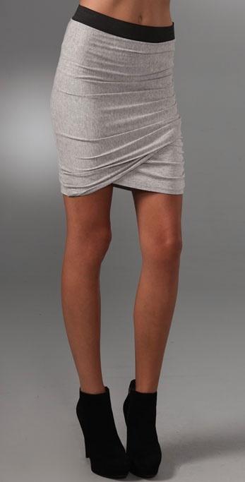 Mason By Michelle Mason Gathered Skirt