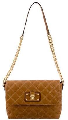 Marc Jacobs Leather Shoulder Bag Brown Leather Shoulder Bag
