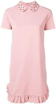 RED Valentino studded T-shirt dress
