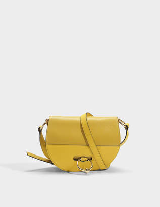 J.W.Anderson Latch Bag in Maize Grained Goatskin Leather