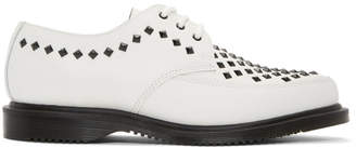 Dr. Martens White Studded Willis Creepers