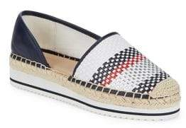Tommy Hilfiger Carliss Checkered Espadrilles