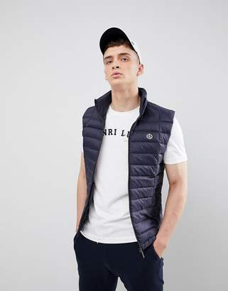Henri Lloyd Cabus Light Weight Down Vest in Navy