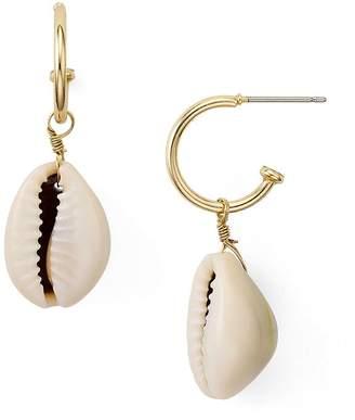 Aqua Shell Earrings - 100% Exclusive