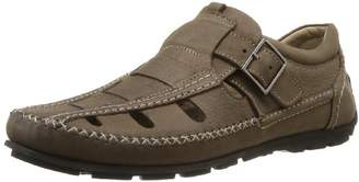 TBS Men's Seopol Fashion Sandals Brown 8