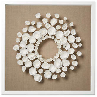 Dawn Wolfe Design Dawn Wolfe - Flower Wreath on Flax