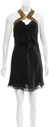 Temperley London Silk Embellished Dress