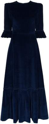 DAY Birger et Mikkelsen The Vampire's Wife Ruffle detail Corduroy dress