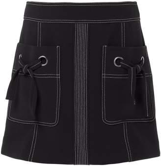 Veronica Beard Rinko Mini Skirt